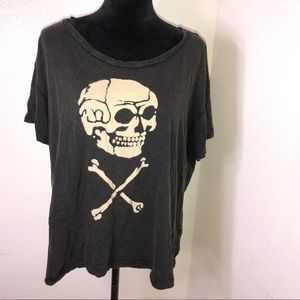 XL Ralph Lauren denim supply skull crossbones